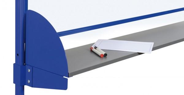 Ablageboard für Basistafel- und Doppeltafelständer