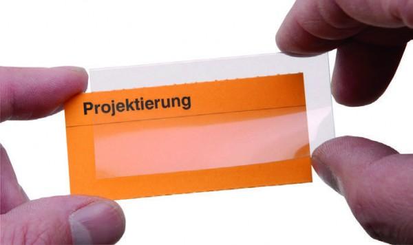 Schutzhüllen für Planosicht-Einsteckkarten