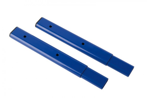Adapterrohr zum Anbringen einer Überschriftentafel an Ovalstandrohr