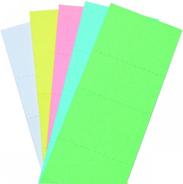 Beschriftungsschild für Klarsicht-Selbstklebereiter