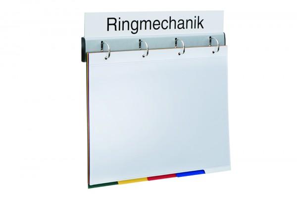 Bezeichnungsschild für 4-fach Ringmechanik